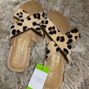 Cute Leopard Sandals